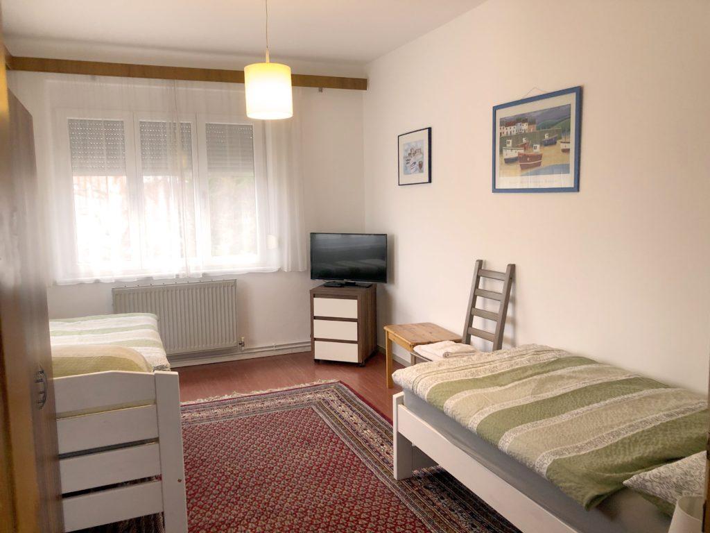 Schlafzimmer große Wohnung